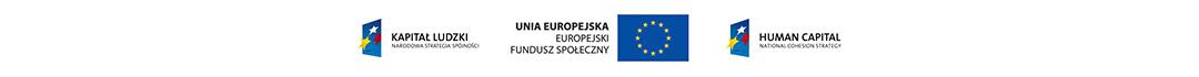 Zakup współfinansowany przez Unię Europejską w ramach Europejskiego Funduszu Społecznego